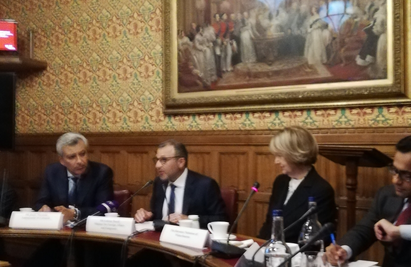 Rehman Chishti MP chairs Q&A